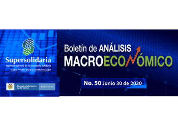 Boletín de Análisis Macroeconómico de la Superintendencia Economía Solidaria No.50 de primero de julio de 2020