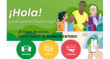 ecoins, reciclaje, lanzamiento